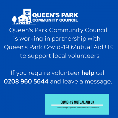 queens-park-community-council-is-working-in-partnership-to-support-queens-park-mutual-aid-local-volunteers